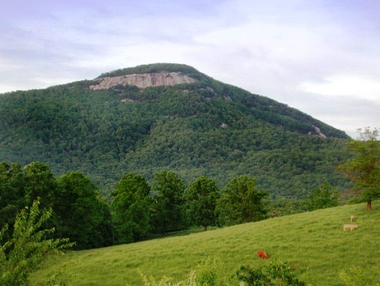 Mount Yonah Rock Face
